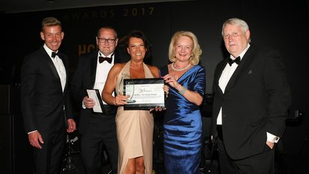 Lois Barry at the HCL awards
