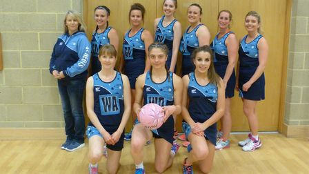 The double-winning St Neots Sapphires.