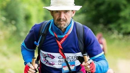 Neil Rigby is taking the ultra challenge for Cancer Research UK.