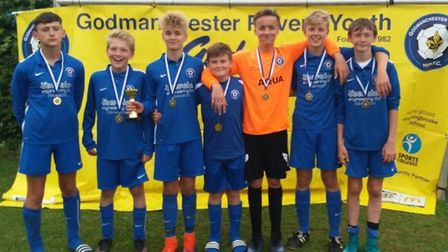 Godmanchester Rovers Blue Under 13s were successful at the club's annual tournament.
