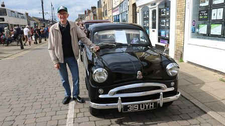 Brian Cundy with his 1956 Standard Super 10