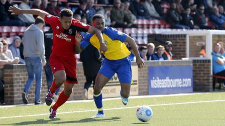 Kieran Monlouis is returning to St Albans City this season. Picture: LEIGH PAGE