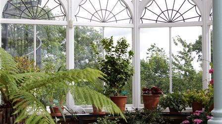 People in glass houses... there are pros and cons of conservatory ownership [PA Photo/thinkstockphot