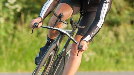 James Tucker won the latest St Ives Cycling Club time trial. Picture: SARAH KELMAN