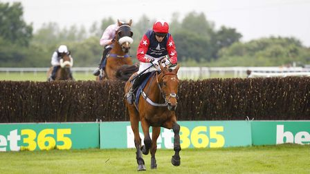 Deauville Prince wins at Huntingdon. Pic Steve Davies