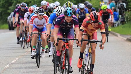 Clay Davies at Verulam ReallyMoving's own road race. Picture: STRAFFORD WATSON