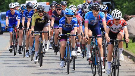 Karla Boddy won the women's race at Verulam ReallyMoving's own road race. Picture: STRAFFORD WATSON