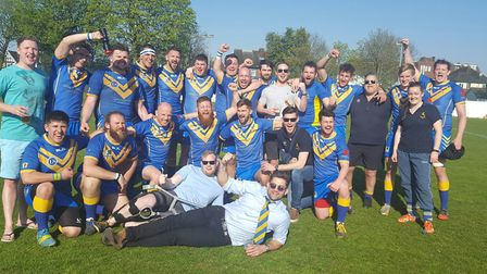 Verulamians won promotion to London NW3 by winning the Herts Middlesex One title.