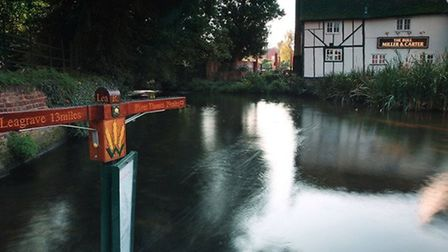Pub views: The Bull seen from the water