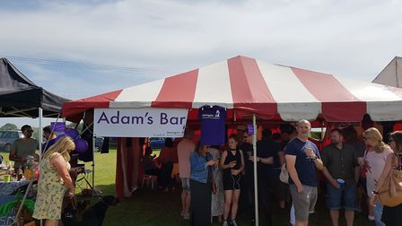 The event was to raise money for the Meningitis Research Foundation in Adam's memory.