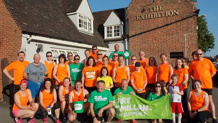 Godmanchester Running Club will take on its annual charity run to money for Macmillan