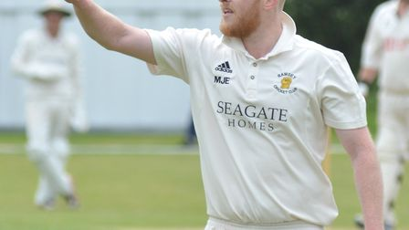 Mark Edwards took four wickets as Ramsey won at Godmanchester Town.