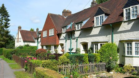 Period pain: Renovating homes like these Arts and Crafts properties in Letchworth Garden City can be