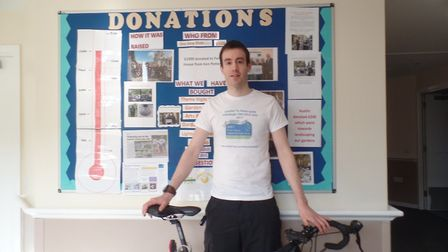 Rob Cracknell will take on a 308 mile cycle ride in aid of Fen House, in Ely.