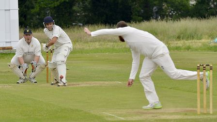 Batsman Hayden Bream helped Sawtry to success against Ramsey 3rds last Saturday. Picture: DUNCAN LAM