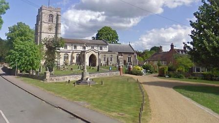 Barrington's All Saints Church will host a flower festival this weekend. Picture: Google Street View
