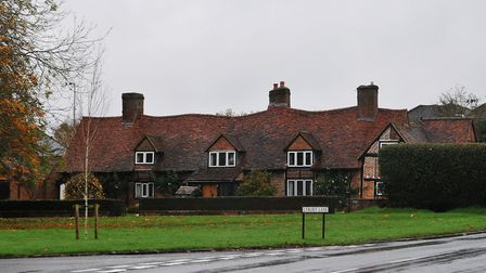Cottages on Redbourn Common