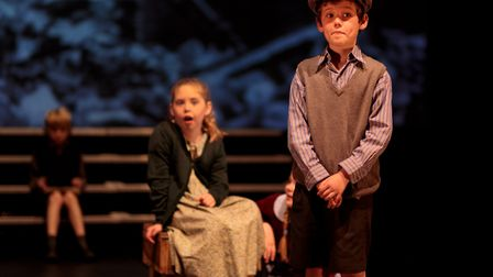 Hugo and Emily performing at the Stageworks Big Show