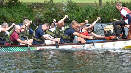 St Neots Dragon Boat Festival takes place in August