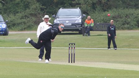 Ben Frazer took two wickets and hit 76 as Harpenden beat Luton Town. Picture: MELISSA PAGE