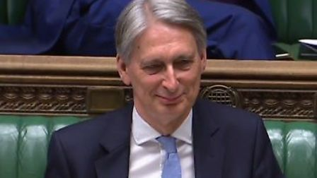 Philip Hammond hinted that he could vote with Labour to prevent a no-deal Brexit. Picture: Parliamen