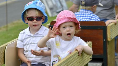 Samuel and Bethan Goater.
