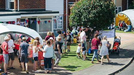 The crowd at the 2016 CST cake sale. Photo: Emma Collins Photography