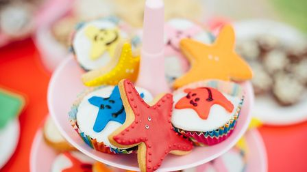Some of the delicious cakes from the CST cake sale. Photo: Emma Collins Photography