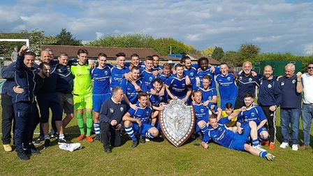 It was all smiles just a few weeks ago for London Colney FC as they collected the SSML Premier Divis
