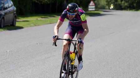 Verulam ReallyMoving's Paul McGrath took second place in Luton Cycling Club's Neil Gardner Memorial