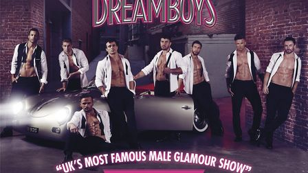 The Dreamboys will be appearing at The Alban Arena in St Albans