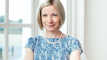 Historian Lucy Worsley. Picture: Sophia Spring