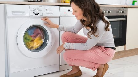 Disgusting: Kirstie Allsopp isn't a fan of washing machines in kitchens