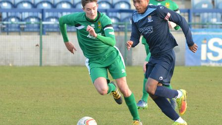 St Neots Town striker Jevani Brown is on trial at Cambridge United.