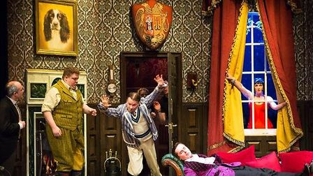 The Play That Goes Wrong comes to the Cambridge Arts Theatre