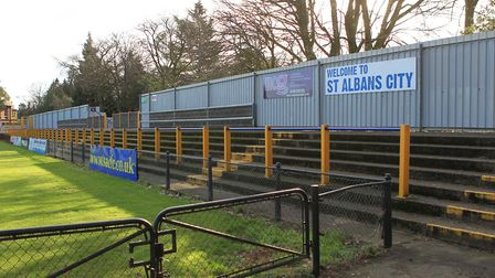 The stand in Clarence Park. Photo: DANNY LOO