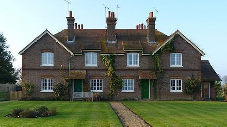 A couple of the estate's characterful cottages