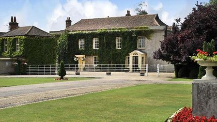 Another of Childwickbury's beautiful period homes