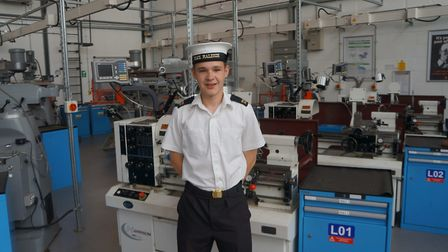 Will Thoday is set to join the Royal Navy as a submariner