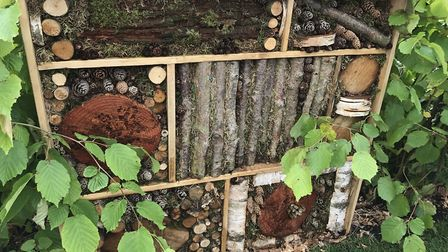 A bug house will attract beneficial insects to your garden [PA Photo/RSPB]