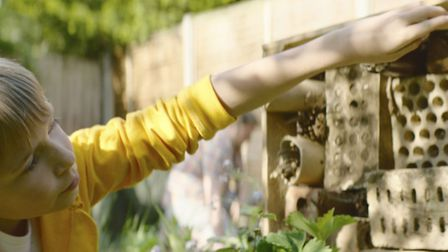 Building a bug hotel is a great way of keeping the kids occupied this summer [PA Photo/RSPB]
