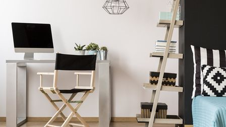 Decluttering dual purpose rooms can be tricky