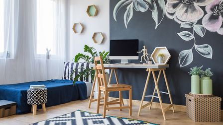 Using a spare room as both a workspace and a guest room requires some careful organisation