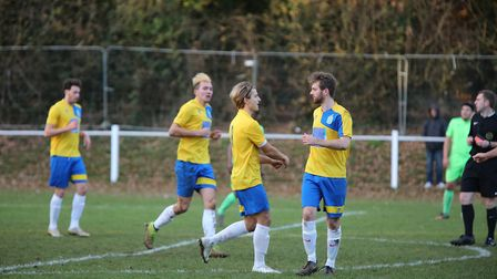 Harpenden Town host St Albans City at Rothamsted Park. Picture: MELISSA PAGE