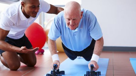 People young and old have taken part in fitness activities in South Cambs.