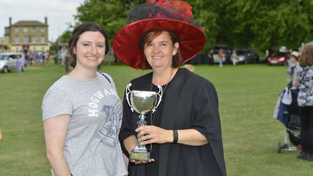 Rachel Howard and Julie Crooks from the 3rd Godmanchester Rainbows.