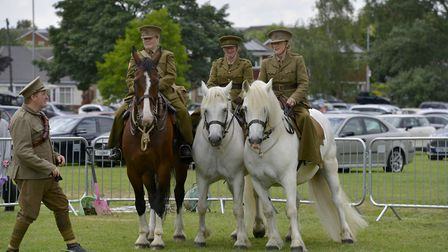 One of the displays which took place at Armed Forces Day.