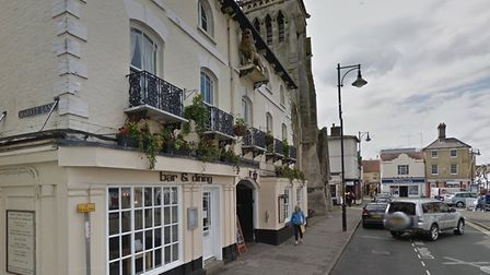 The Golden Lion, in St Ives.