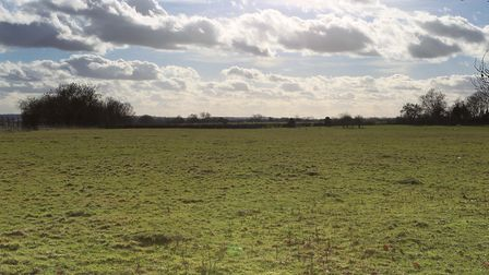 The proposed site of the Radlett rail freight depot. Picture: DANNY LOO