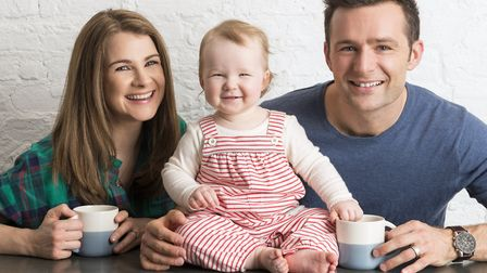 Izzy Judd, who has released her book Dare to Dream about fertility problems, pictured with her daugh